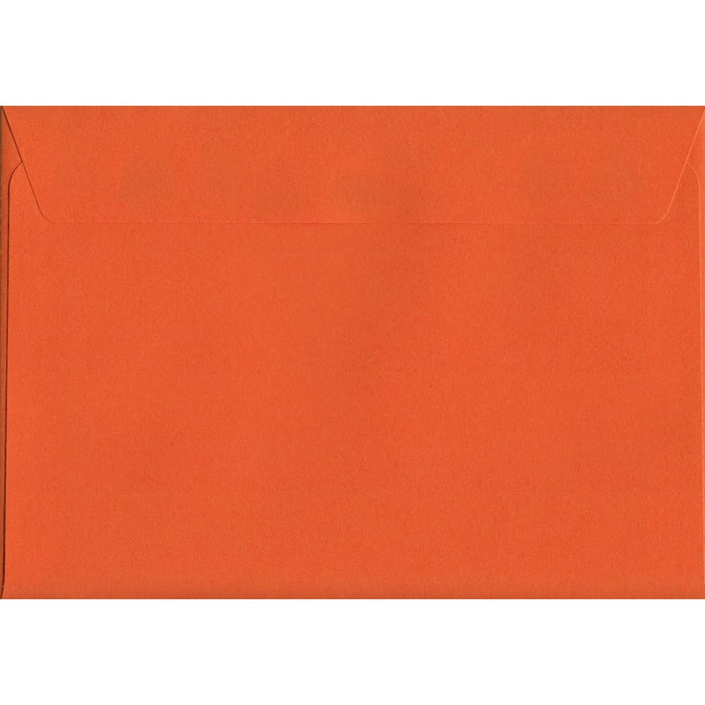 Sunset Orange Peel/Seal C6 114mm x 162mm 120gsm Luxury Coloured Envelope