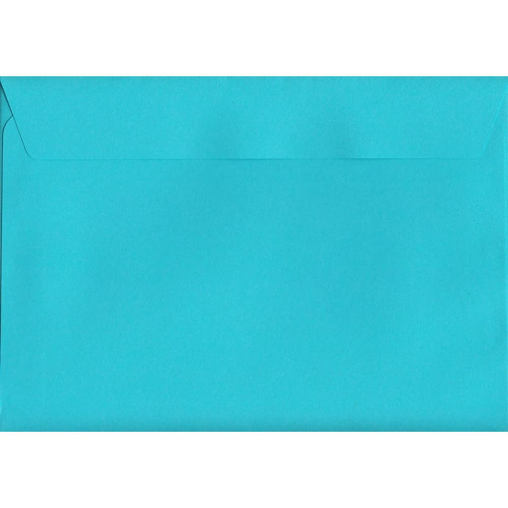 Cocktail Blue Peel/Seal C6 114mm x 162mm 120gsm Luxury Coloured Envelope