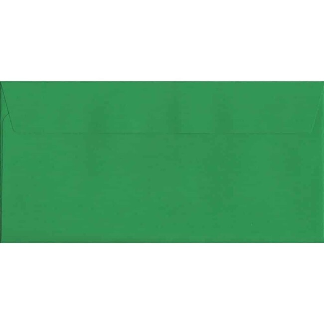 Holly Green Peel/Seal DL 114mm x 229mm 120gsm Luxury Coloured Envelope