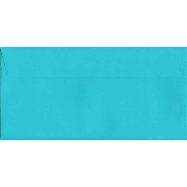 Cocktail Blue Peel/Seal DL 114mm x 229mm 120gsm Luxury Coloured Envelope