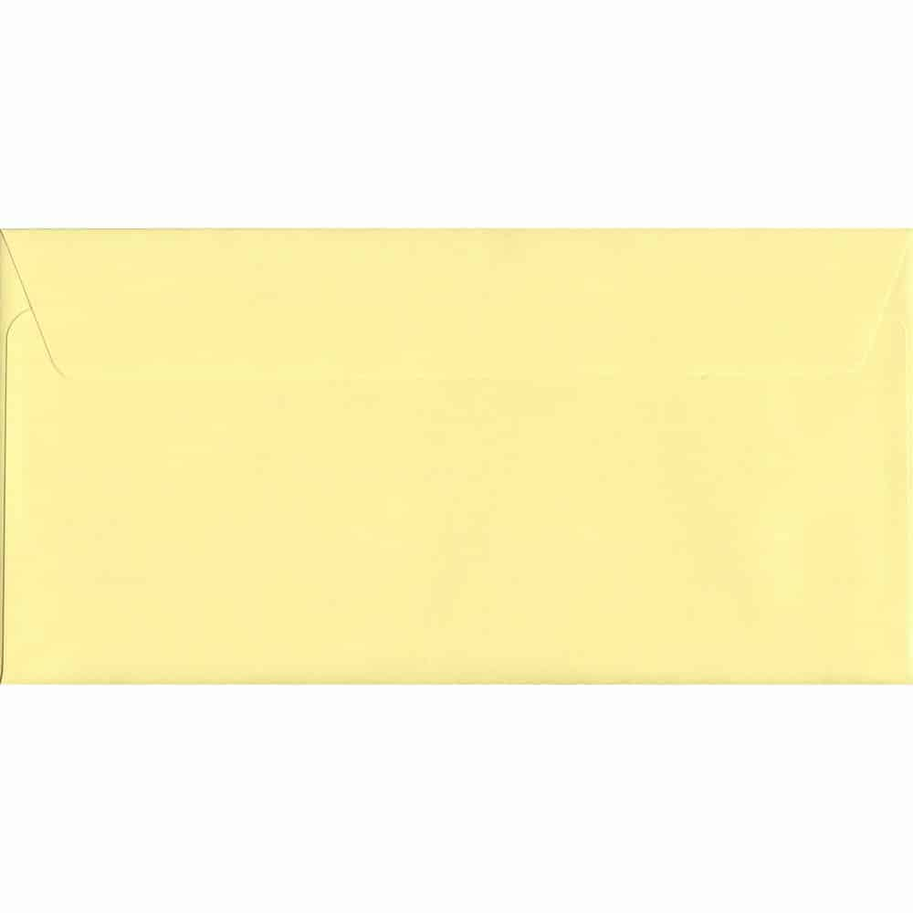 Sunlight Yellow Peel/Seal DL 114mm x 229mm 120gsm Luxury Coloured Envelope