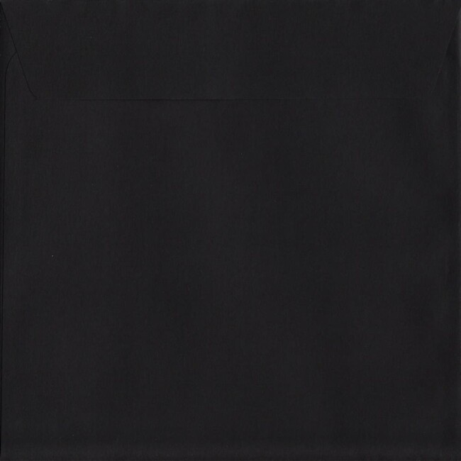 Black Peel/Seal S2 220mm x 220mm 120gsm Luxury Coloured Envelope
