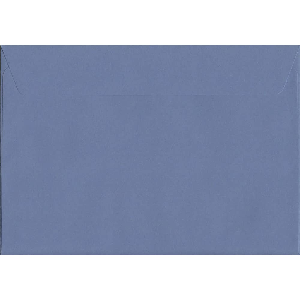 50 A4 Purple Envelopes. Deep Lavender. 229mm x 324mm. 120gsm paper. Peel/Seal Flap.