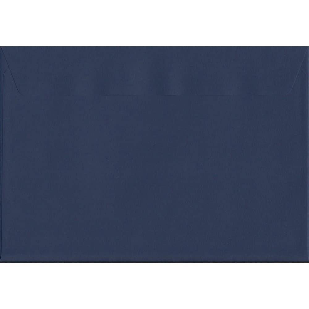 50 A4 Blue Envelopes. Oxford Blue. 229mm x 324mm. 120gsm paper. Peel/Seal Flap.