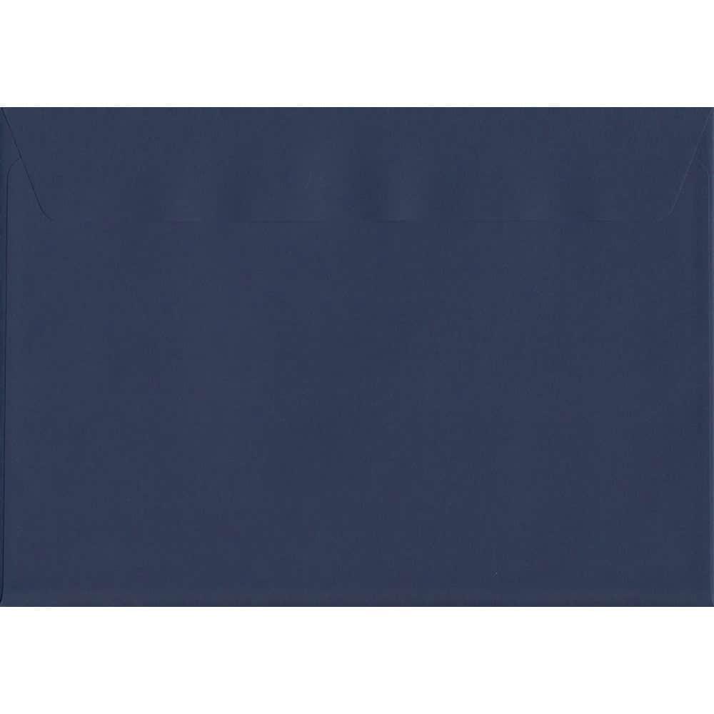 100 A5 Blue Envelopes. Oxford Blue. 162mm x 229mm. 120gsm paper. Peel/Seal Flap.
