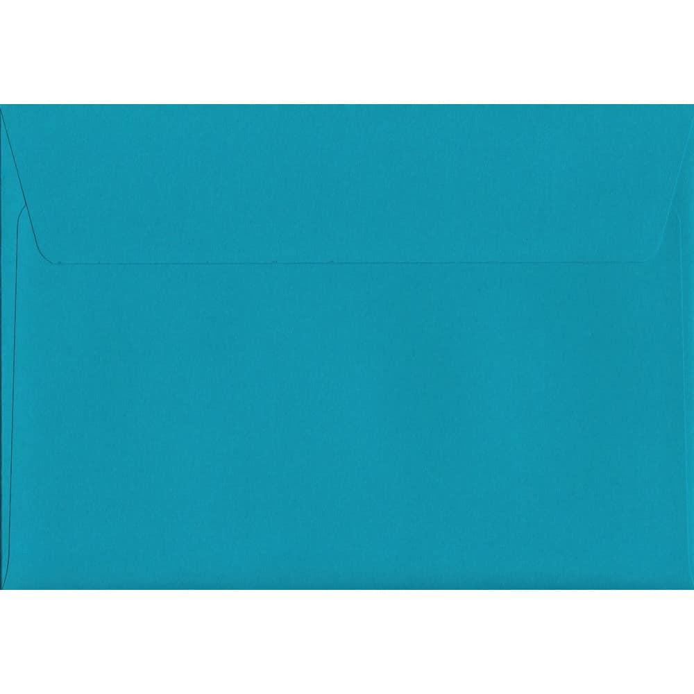 100 A6 Blue Envelopes. Deep Blue. 114mm x 162mm. 120gsm paper. Peel/Seal Flap.