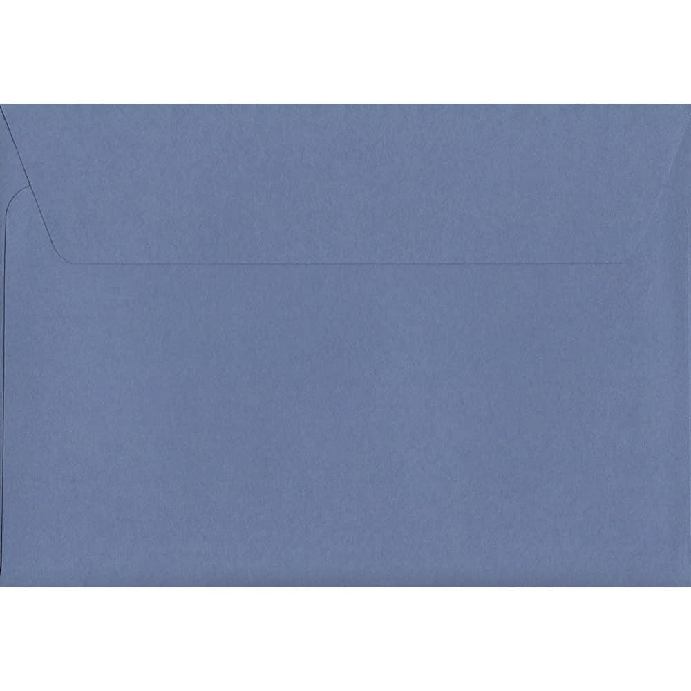 100 A6 Purple Envelopes. Deep Lavender. 114mm x 162mm. 120gsm paper. Peel/Seal Flap.