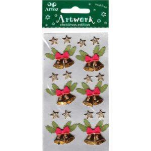 Christmas Bells Craft Embellishment By Artoz