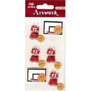 Basketball Equipment Craft Embellishment By Artoz