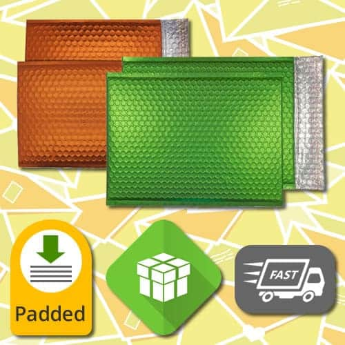 Matt Padded Bubble Envelopes