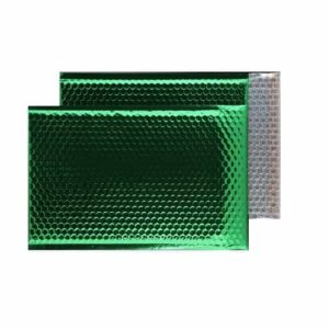 Emerald Green Gloss 324mm x 230mm Bubble Lined Envelopes (Box Of 100)