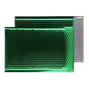 Emerald Green Gloss 450mm x 324mm Bubble Lined Envelopes (Box Of 50)