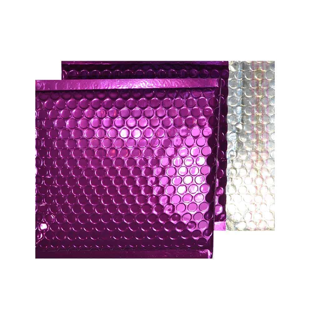 Purple Grape Gloss 165mm x 165mm Bubble Lined Envelopes (Box Of 100)