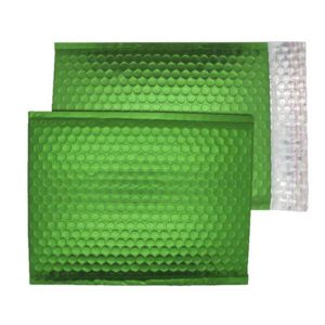 Beetle Green Matt 250mm x 180mm Bubble Lined Envelopes (Box Of 100)