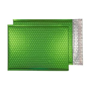 Beetle Green Matt 324mm x 230mm Bubble Lined Envelopes (Box Of 100)