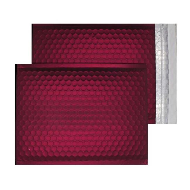 Mulled Wine Matt 250mm x 180mm Bubble Lined Envelopes (Box Of 100)