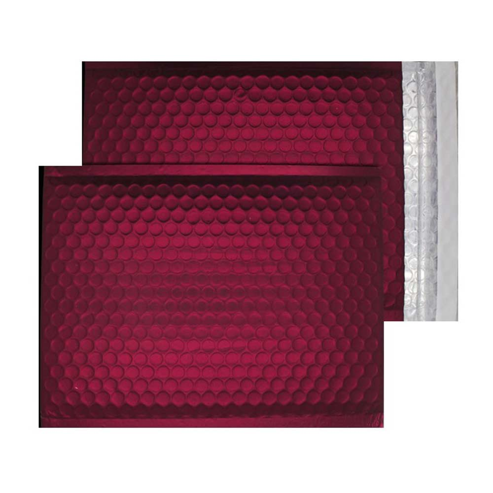 Mulled Wine Matt 250mm x 180mm Bubble Lined Envelopes (Box Of 100)