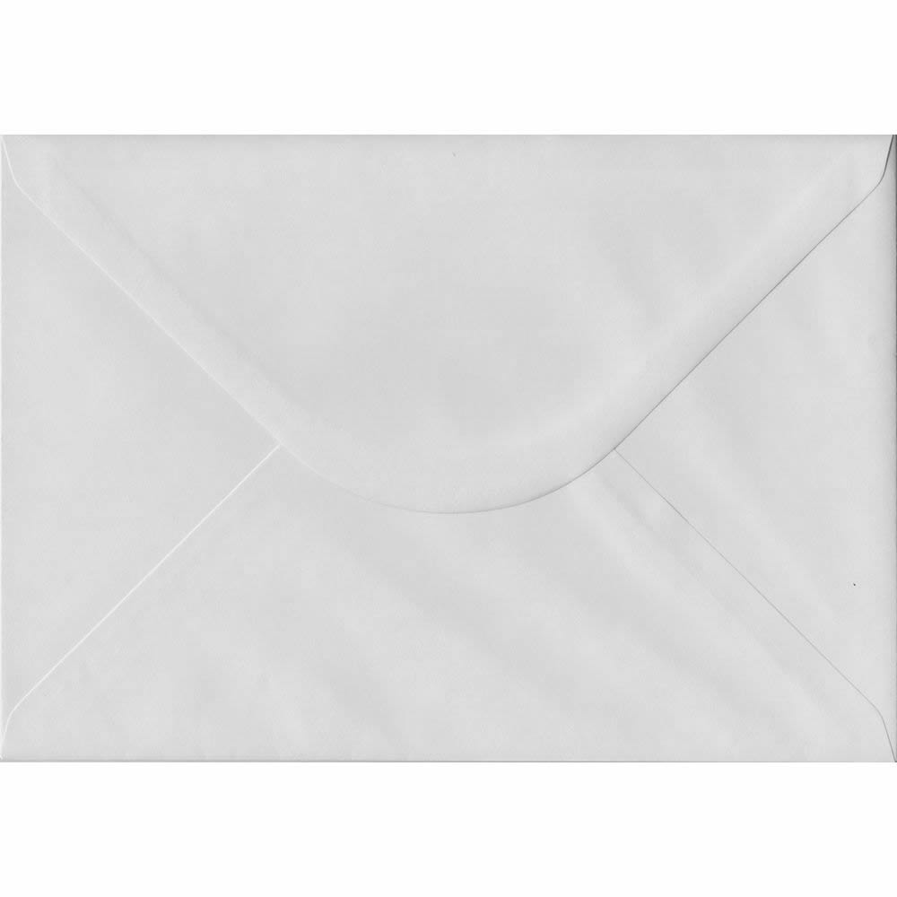 162mm x 229mm White Heavyweight Envelope. C5/Half A4 Gummed 130gsm.