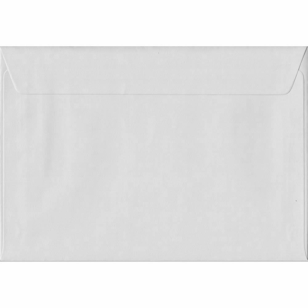 162mm x 229mm White Heavyweight Envelope. C5/Half A4 Peel/Seal 130gsm.