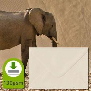Ivory 130gsm Envelopes