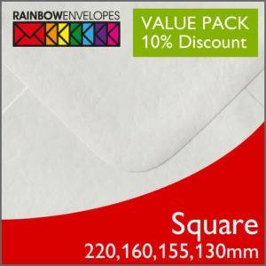 Square Envelope Packs