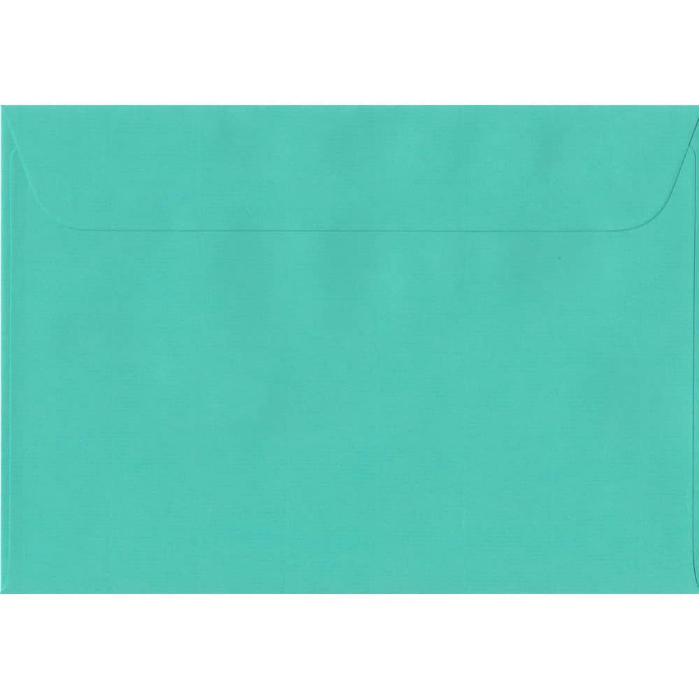162mm x 229mm Emerald Green Laid Envelope. C5/A5 Paper Size. Peel/Seal Flap. 100gsm Paper.