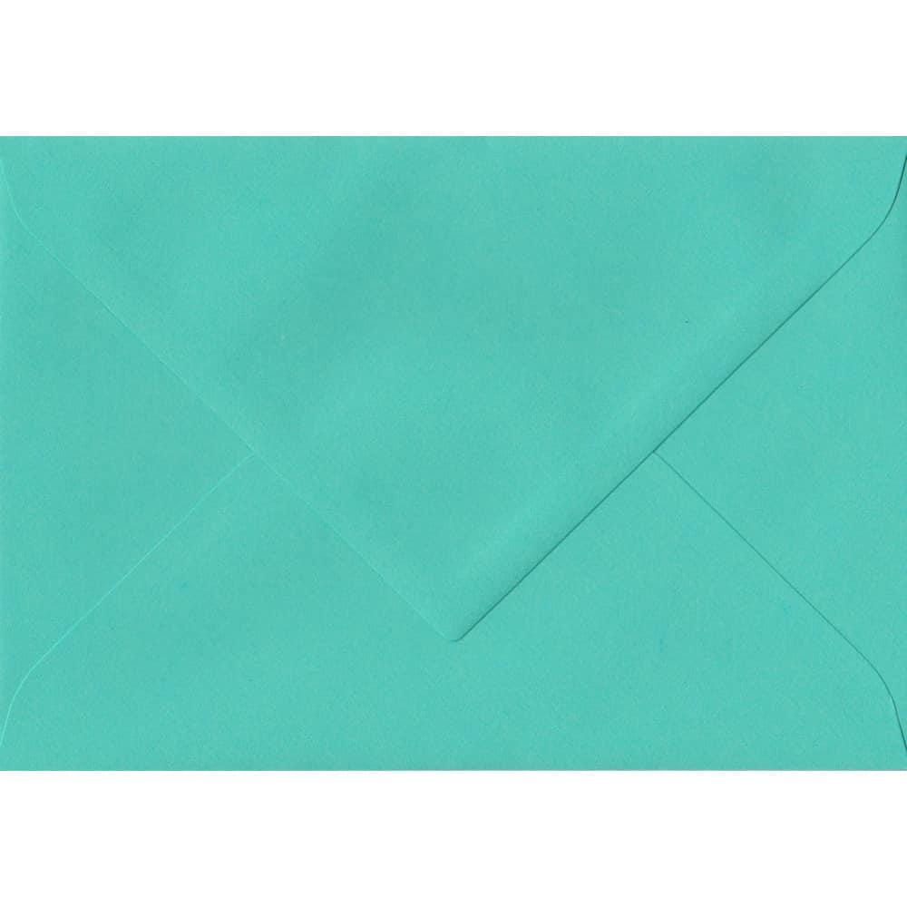 75mm x 110mm Emerald Green Laid Envelope. RSVP/Gift Card Size. Gummed Flap. 100gsm Paper.