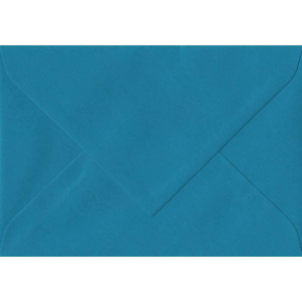 75mm x 110mm Petrol Blue Laid Envelope. RSVP/Gift Card Size. Gummed Flap. 100gsm Paper.