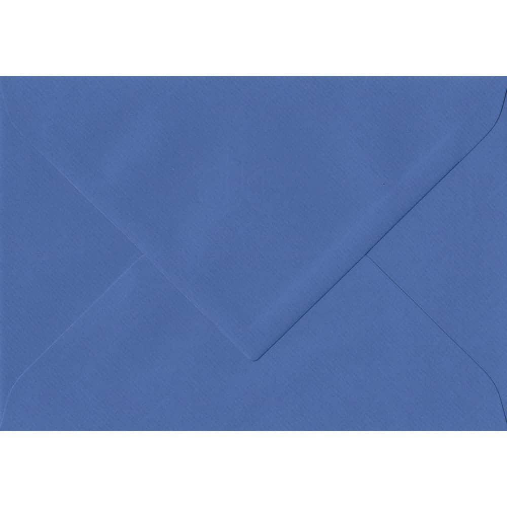 75mm x 110mm Royal Blue Laid Envelope. RSVP/Gift Card Size. Gummed Flap. 100gsm Paper.