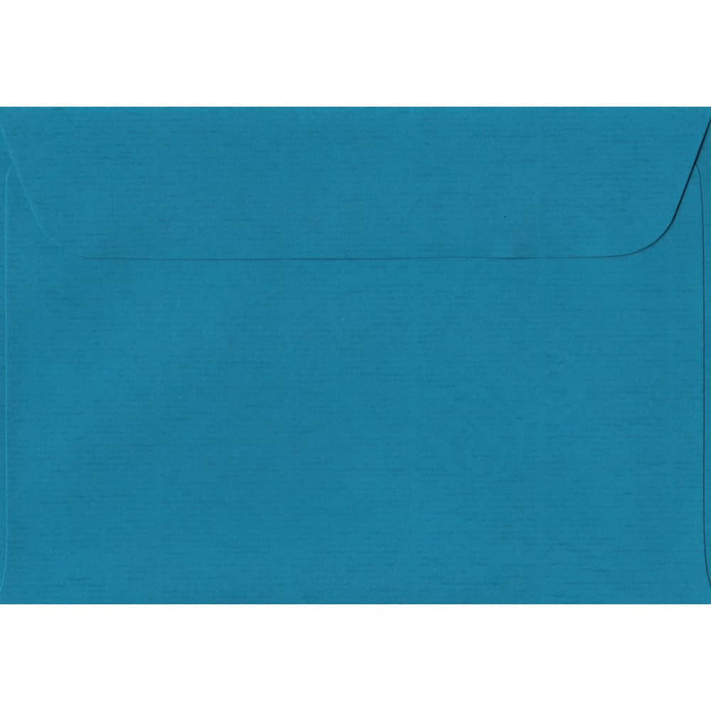 114mm x 162mm Petrol Blue Laid Envelope. C6/A6 Paper Size. Peel/Seal Flap. 100gsm Paper.