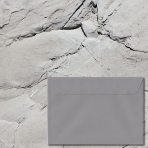 Grafito Grey Laid Envelopes