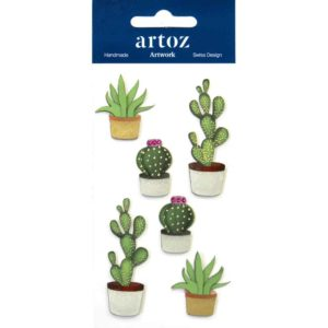 Cactus Craft Embellishment By Artoz