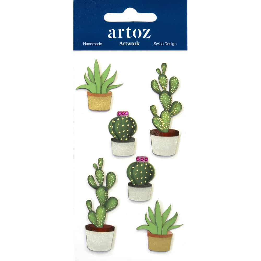 Cactus Craft Embellishment By Artoz