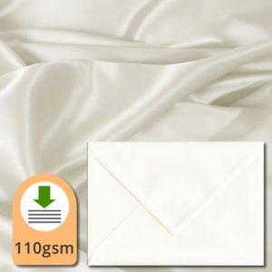 Ivory Silk Envelopes