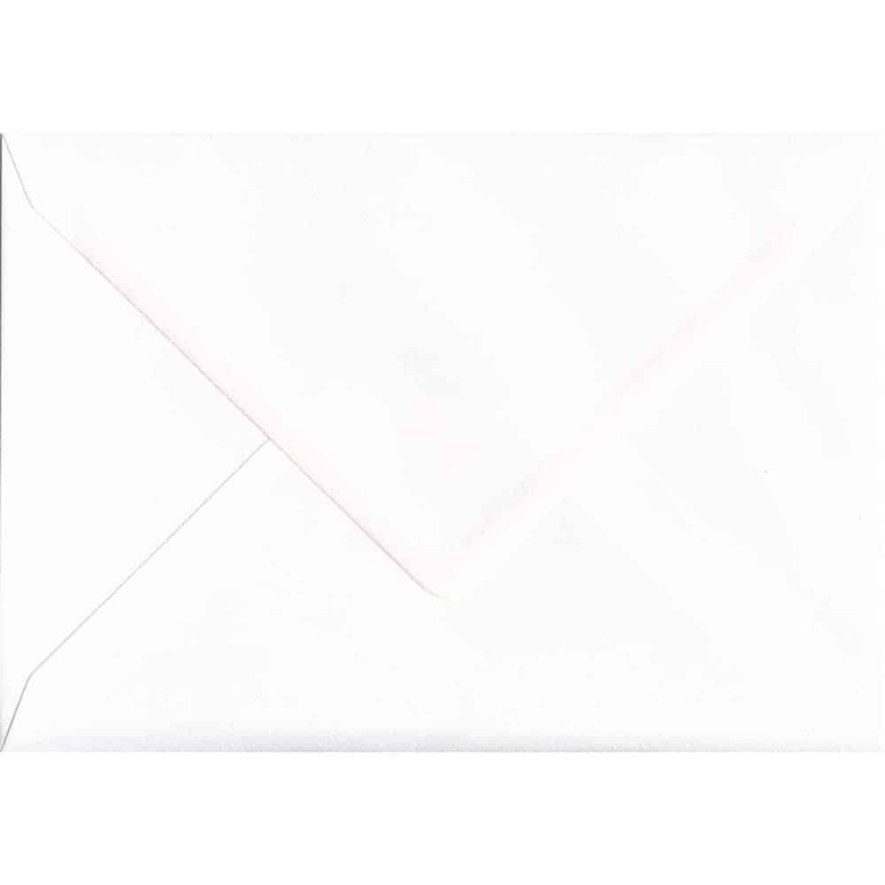 162mm x 229mm Alabaster Textured Envelope. C5 (to fit A5) Size. Gummed Flap. 100gsm Paper.