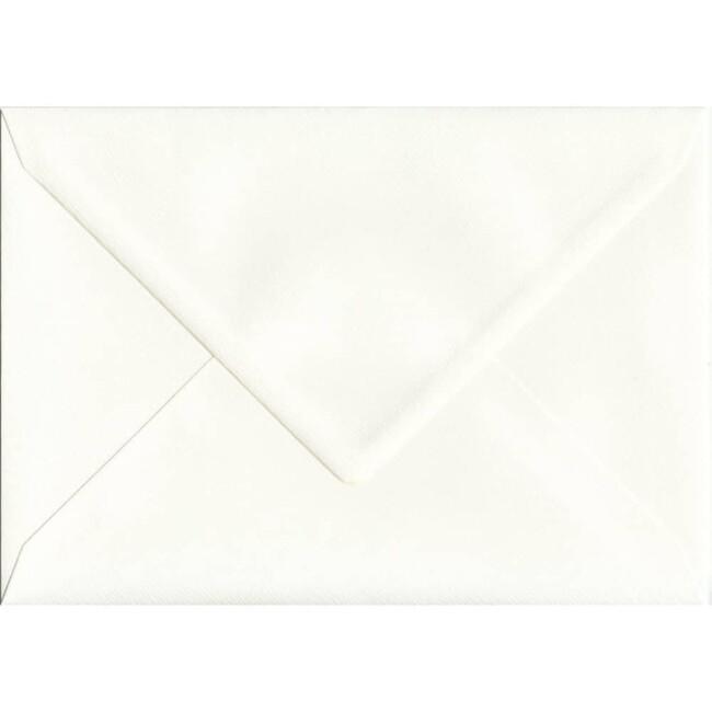 162mm x 229mm Antique Silk Textured Envelope. C5 (to fit A5) Size. Gummed Flap. 100gsm Paper.