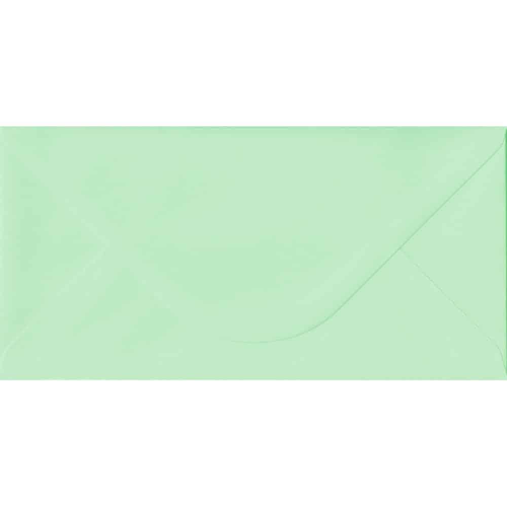 110mm x 220mm Mint Top Quality Envelope. DL Envelopes Size. Gummed Flap. 100gsm Paper.