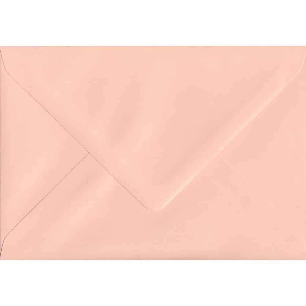 162mm x 229mm Salmon Top Quality Envelope. C5 (to fit A5) Size. Gummed Flap. 100gsm Paper.