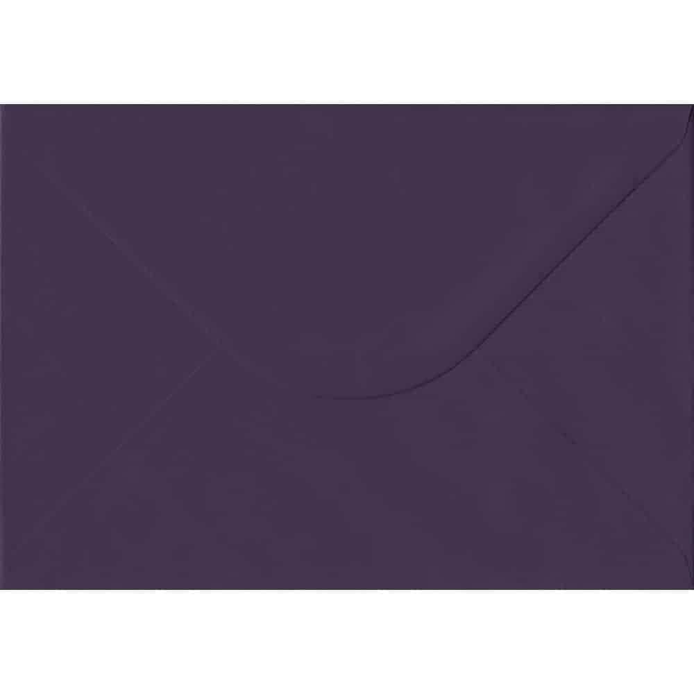 162mm x 229mm Aubergine Extra Thick Envelope. C5 (to fit A5) Size. Gummed Flap. 135gsm Paper.