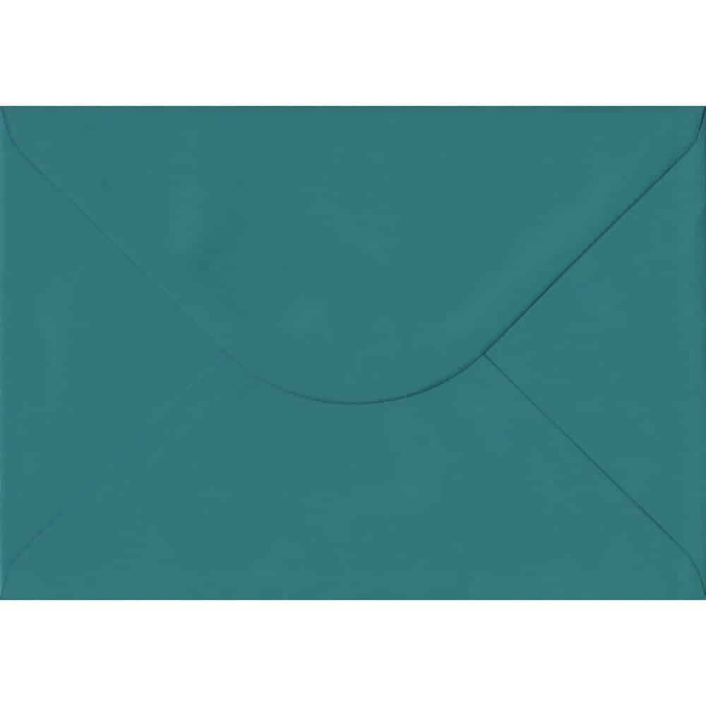 162mm x 229mm Teal Green Extra Thick Envelope. C5 (to fit A5) Size. Gummed Flap. 135gsm Paper.