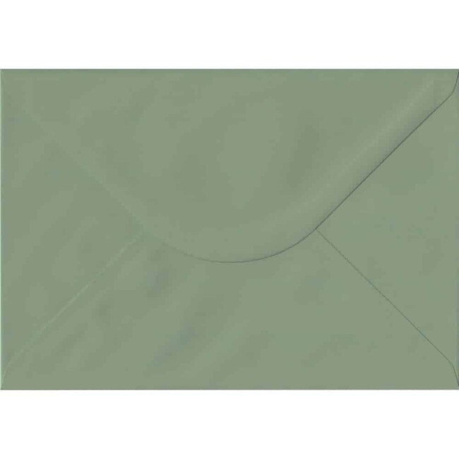 162mm x 229mm Vintage Green Extra Thick Envelope. C5 (to fit A5) Size. Gummed Flap. 135gsm Paper.