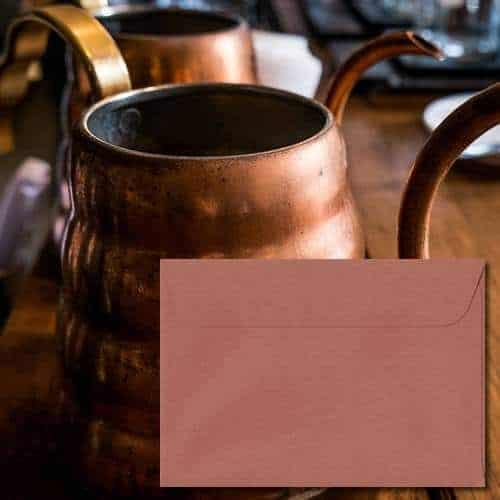 Copper Laid Envelopes