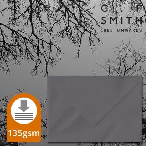 Dark Grey Envelopes