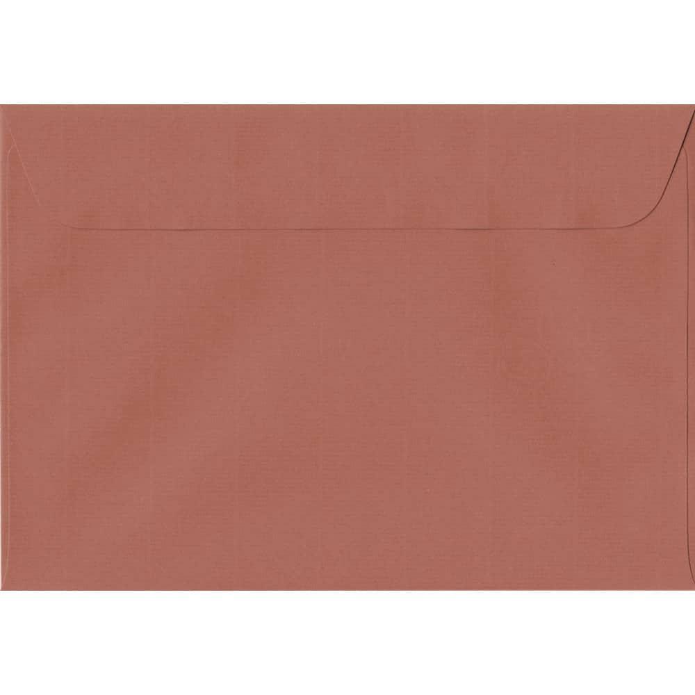 162mm x 229mm Copper Laid Envelope. C5/A5 Paper Size. Peel/Seal Flap. 100gsm Paper.