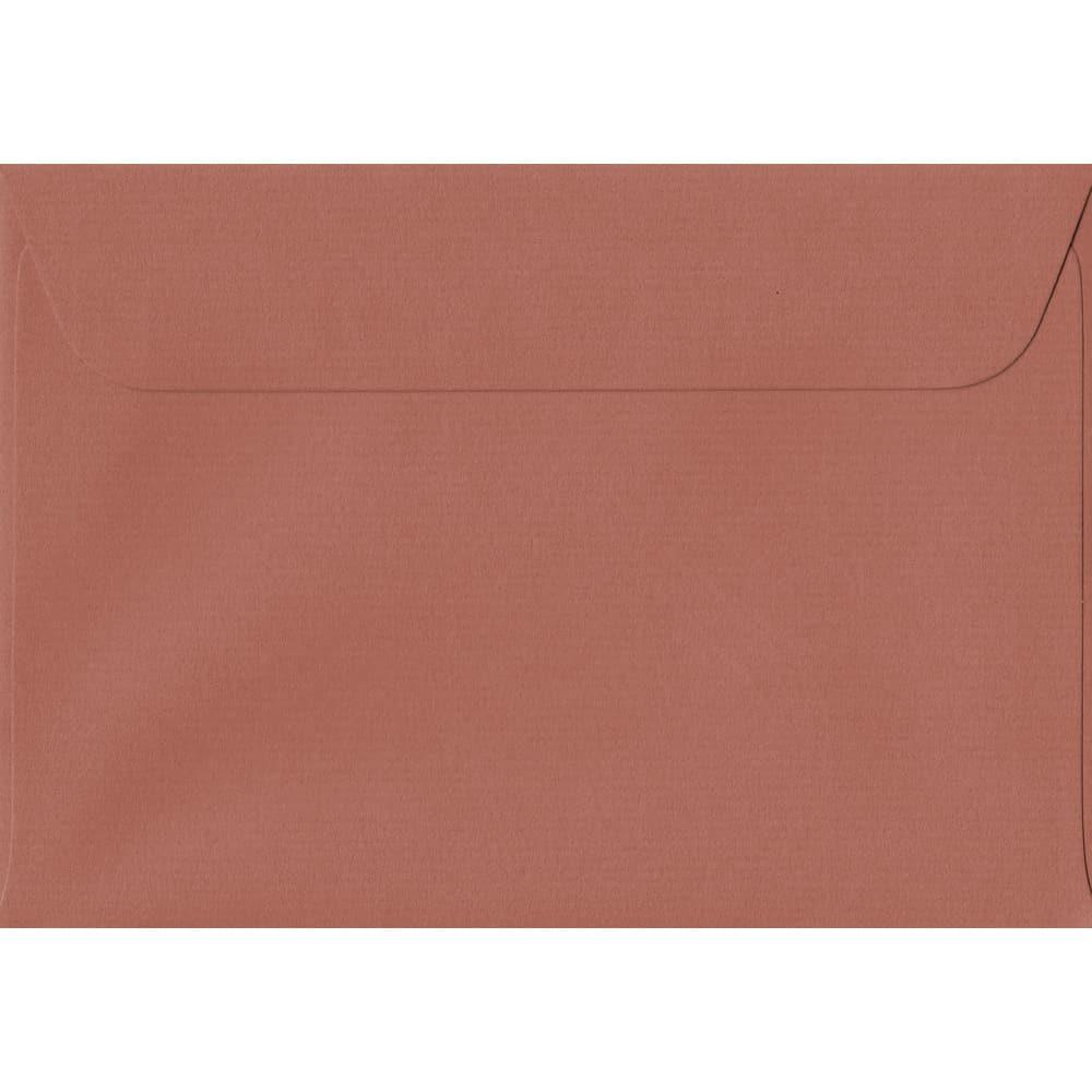 114mm x 162mm Copper Laid Envelope. C6/A6 Paper Size. Peel/Seal Flap. 100gsm Paper.
