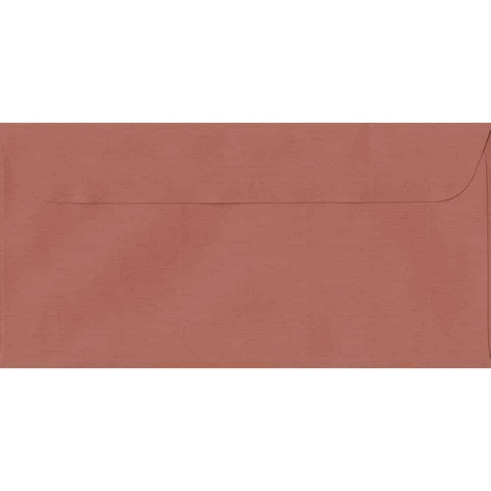 114mm x 224mm Copper Laid Envelope. DL Paper Size. Peel/Seal Flap. 100gsm Paper.