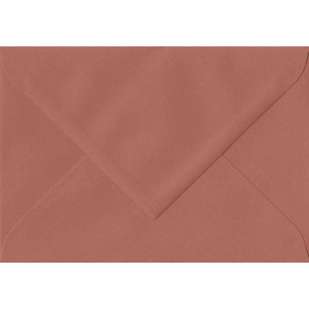 75mm x 110mm Copper Laid Envelope. RSVP/Gift Card Size. Gummed Flap. 100gsm Paper.