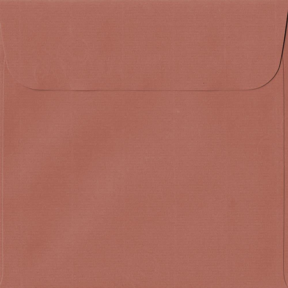 160mm x 160mm Copper Laid Envelope. Square Paper Size. Peel/Seal Flap. 100gsm Paper.
