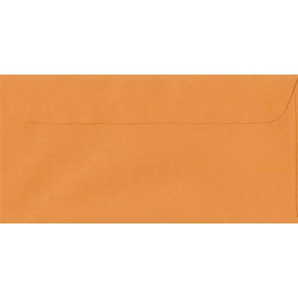 114mm x 224mm Mango Laid Envelope. DL Paper Size. Peel/Seal Flap. 100gsm Paper.