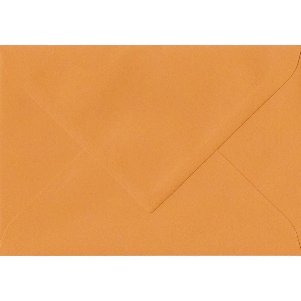 75mm x 110mm Mango Laid Envelope. RSVP/Gift Card Size. Gummed Flap. 100gsm Paper.